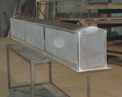 Industrial Fabrication  - Jameson Sheet Metal, Inc.
