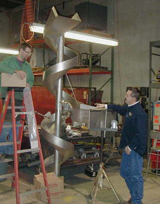Food Grade Fabrication - Jameson Sheet Metal, Inc.